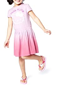 Hello Kitty Pure Cotton Pleated Dress [T77-6124J-Z]
