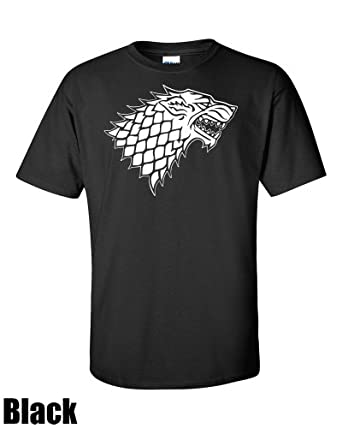 "Winterfell Direwolf. ColdWinds. Premium T-shirt. Inspired by the Game of thrones (Small 34"" - 36"", Black)"