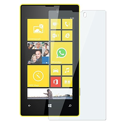 Everydaysource® Compatible With Nokia Lumia 520 Clear Reusable Screen Protector, 2-Pack