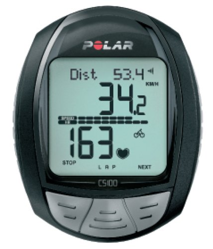 Polar CS100B Cycling Computer Heart Rate Monitor (2008 Model)