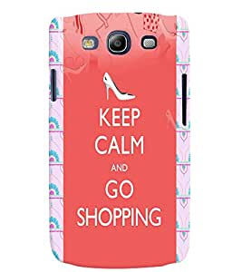 Fuson 3D Printed Quotes Designer back case cover for Samsung Galaxy S3 Neo - D4566