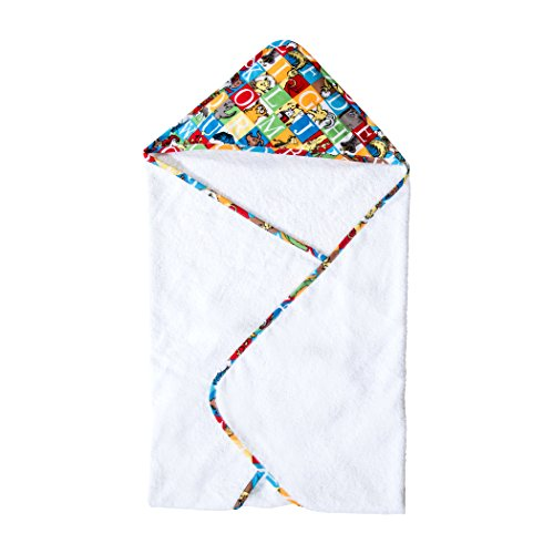 Trend Lab Dr. Seuss Alphabet Seuss Bouquet Hooded Towel