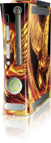 Skinit The Hunger Games Mockingjay Vinyl Skin for Microsoft Xbox 360 (Includes HDD)
