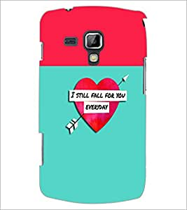 PrintDhaba Quote D-2632 Back Case Cover for SAMSUNG GALAXY S DUOS 2 S7582 (Multi-Coloured)