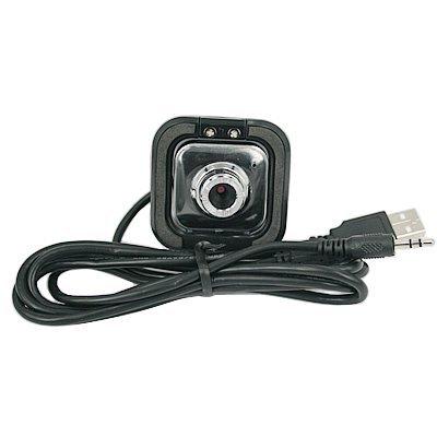 Black 5.0 Megapixel Usb 2.0 Digital Webcam W/ Microphone
