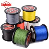 1000M SeaKnight Tri-Poseidon Series Braid Wire PE Braided Fishing Line Braided Line 8-60LB- 0.8, Gray
