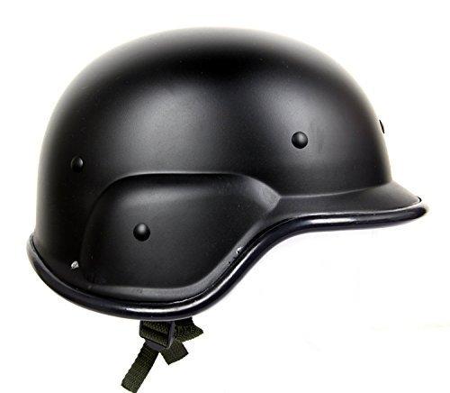 FreshGadgetz Flat Dot Motorcycle Half Helmet Skull Cap Skid Lid Black