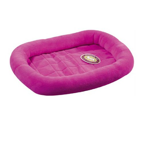 Slumber Pet Velvet Terry Crate Dog Bed, X-Large, Fuchsia front-803178
