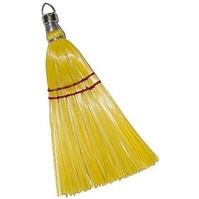 "Magnolia Brush 227 Whisk Broom, Plastic Bristles, 11"" Length (Case of 12)"