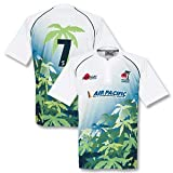 Samurai Men's Replica Fiji Home Rugby - White/Multi, X-Large