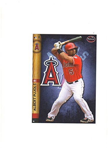 Los Angeles Angels Mini Felt Pennant & Albert Pujols Mini Fathead 2014