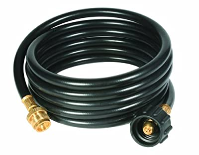 """Camco Propane Hose Assembly - Acme x 1""""-20 Male Throwaway Cylinder Thread"""