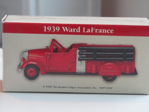 Collectible -- 1939 Ward LaFrance Red Fire Truck [Fire Engine] - 1