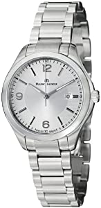 Maurice Lacroix Miros Date Silver Dial Stainless Steel Ladies Watch MI1014-SS002130