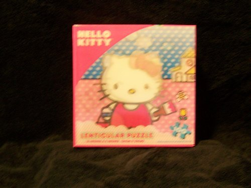 Hello Kitty (Lenticular) 100 Piece Puzzle - 1