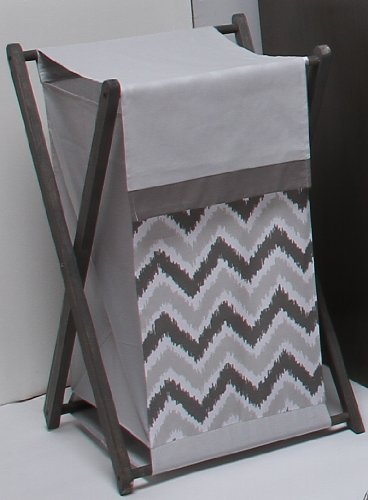 Ikat Zigzag Grey Hamper - 1