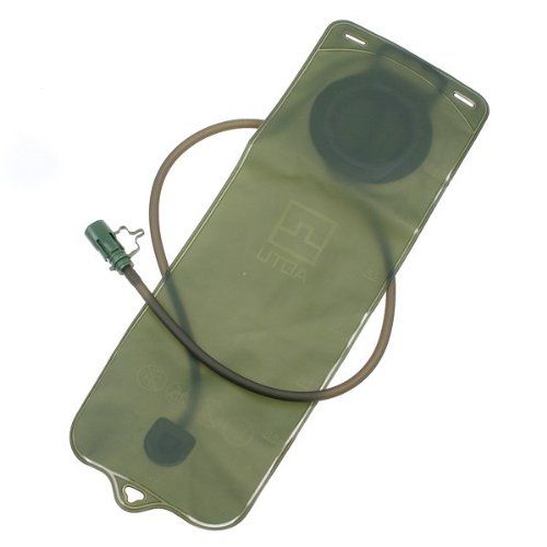 3L Bicycle Mouth Water Bladder Bag Hydration Camping Hiking Climbing Military Green