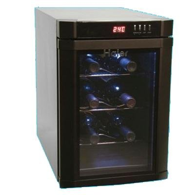 Best Deals! Haier HVUE06ABB 6-Bottle Wine Fridge, Black