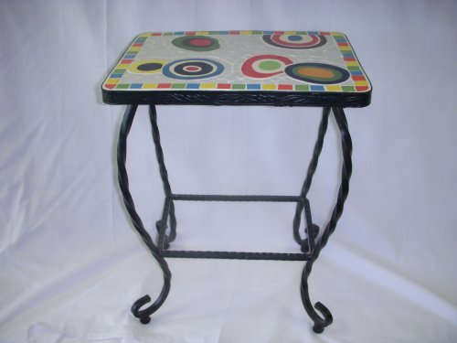 Image of Colorful End Table (B001B58NKC)