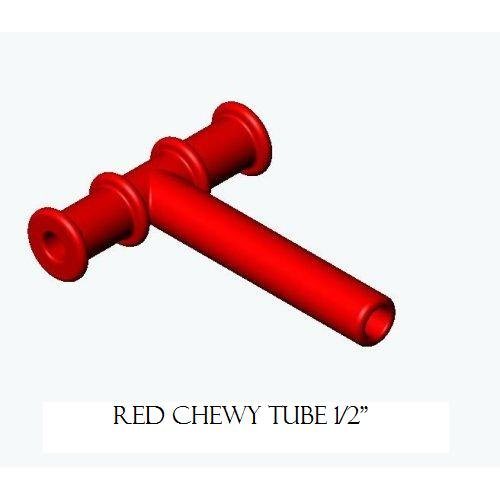 MEDIUM CHEWY TUBE RED - 1