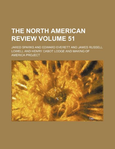 The North American review Volume 51