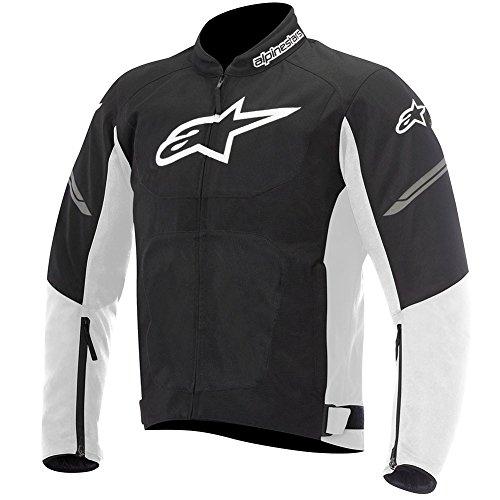 Alpinestars Viper Air Textile Mens Motorcycle Jackets - Black/White - Medium