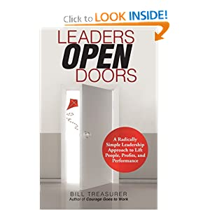 Leaders Open Doors by Bill Treasurer