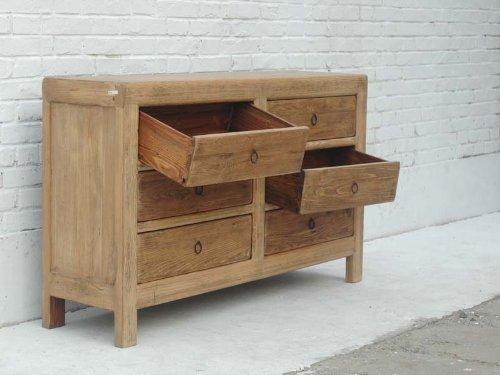 Dresser drawers Elm Shanxi 1810