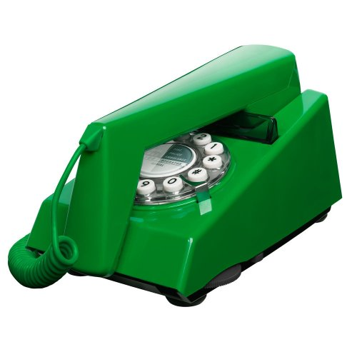 Emerald Green Classic 1970s Style Trim Phone by Wild and Wolf image