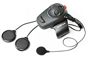 Sena SMH5-02 Bluetooth Headset/Intercom Full-Face Helmet Kit for Scooters and Motorcycles by Sena