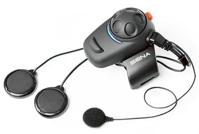 SENA SMH5-02 - Ecouteurs et Intercom Bluetooth pour Casque Intégral