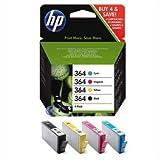 HP 364 Combo Pack - Print cartridge - 1 x black, yellow, cyan, magenta