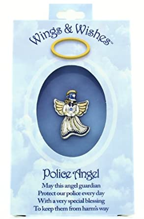 POLICEMAN Wings & Wishes Angel Pin