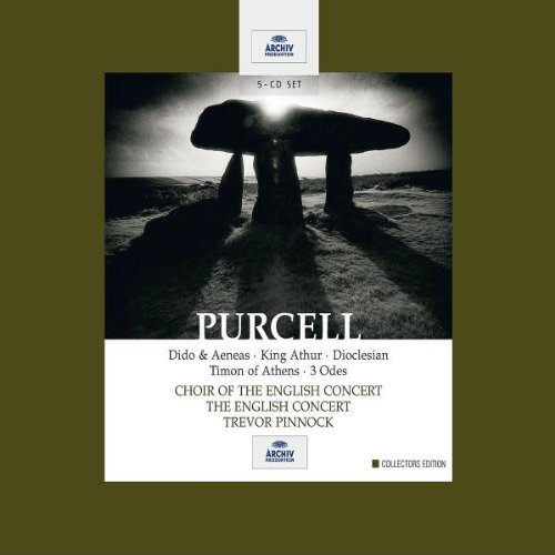 Purcell: Dido & Aeneas King Arthur Dioclesian Timon of Athens 3 Odes by Henry Purcell, Trevor Pinnock and The English Concert
