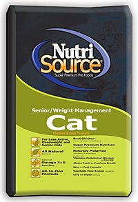 See NutriSource Senior Weight Dry Cat Food 16lb