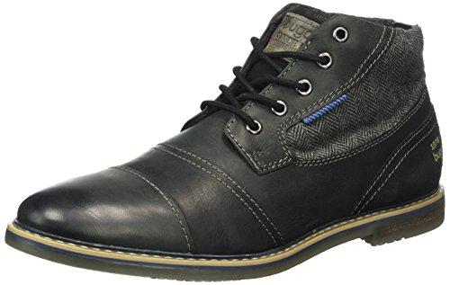 bugatti-herren-311169303269-desert-boots-schwarz-black-black-1010-43-eu