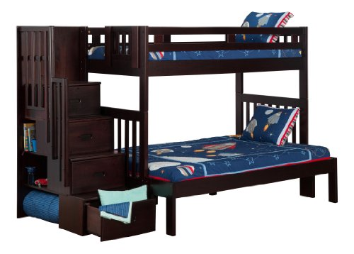 Bunk Beds With Stairs 1273 front
