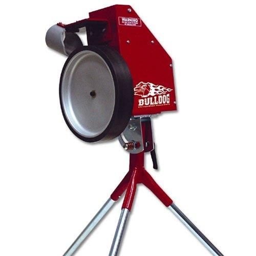 bulldog 2 wheel pitching machine