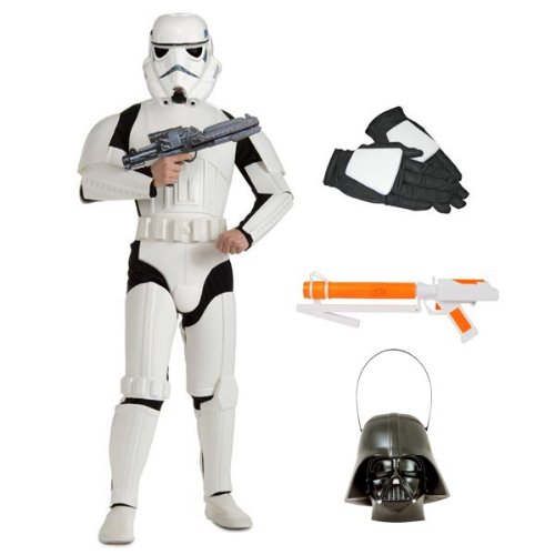 Complete Deluxe Stormtrooper Adult Costume with Accessories - Size XL