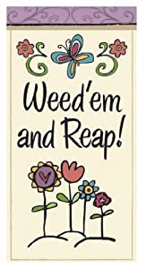Funny Garden Sayings Mini Flag Weed 39 Em And