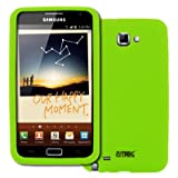 416%2B LrHIoL. SL160  EMPIRE Samsung Galaxy Note Neon Green Silicone Skin Case Cover [EMPIRE Packaging] Reviews