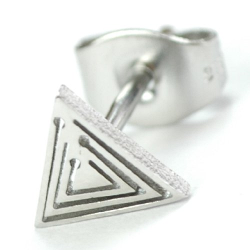 Stainless Steel Single Stud Earring, THIS IS A SINGLE EARRING!
