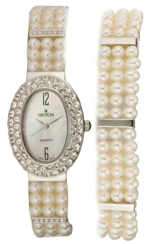Ladies Cultured Pearl Watch