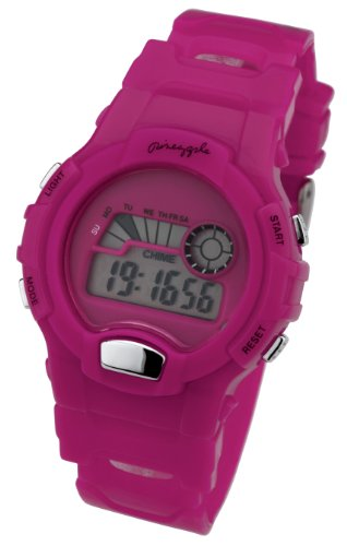 Pineapple Dance Studios Hot Pink Digital Ladies Watch - BE58.15PI