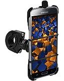mumbi TwoSave Fahrradhalter Samsung Galaxy S5 Motorrad und Fahrrad Halterung doppelt gesichert / Hoch + Querformat + Sicherheitsband