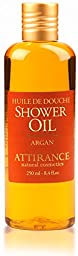 Attirance - Shower Oil - Argan - 8.4oz - All Natural with Olive Oil, Argan Oil & Arnica Extract