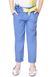 Autograph Pure Cotton Adjustable Waist Chinos with Belt [T77-5531D-Z]