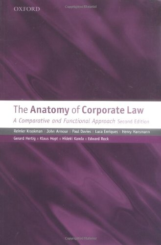 The Anatomy of Corporate Law: A Comparative and...