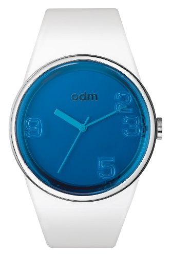 odm-blink-unisex-quartz-watch-with-blue-dial-analogue-display-and-white-silicone-strap-dd131-04