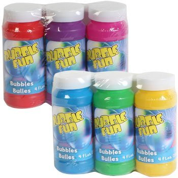 Bubbles with Wands, 3-ct. Packs